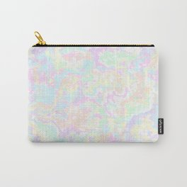 Pastel Swirls Carry-All Pouch