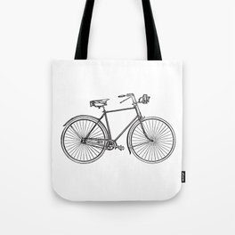 I want to ride my bicycle Tote Bag