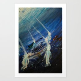 Esoteric Depths Art Print