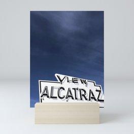 View Alcatraz  Mini Art Print