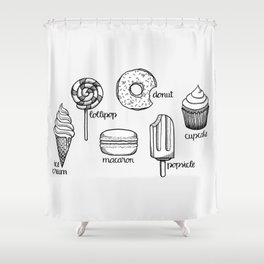 Sweets || Shower Curtain