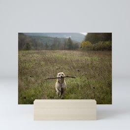 Fetching Mini Art Print