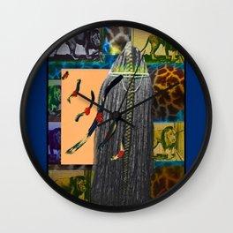 Masai Braid Wall Clock