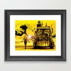 Furiosa - Mad Max Fury Road Framed Art Print