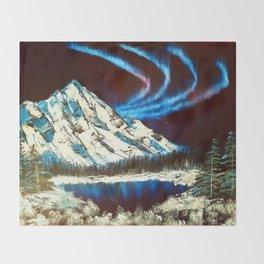 Northern Skies Throw Blanket