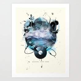 The Essence of Queens Art Print
