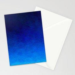 Cyan Circular Stationery Cards