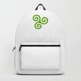 Triskele | Off Axis - Celtic Triad or Trinity Symbol Backpack