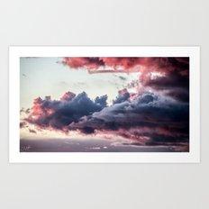 The Passing Storm II Art Print