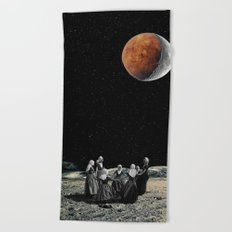 Celebration of the new Moon Beach Towel