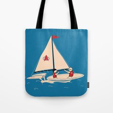 Sailing Towards Future Unknowns Tote Bag