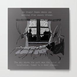 Neuromancer Metamorphosis 02 Metal Print