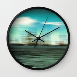 The wind Wall Clock