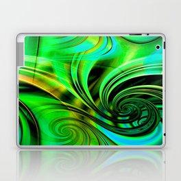 Curls Deluxe Green Laptop & iPad Skin
