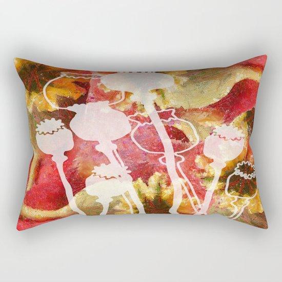 Popy variation 5th Rectangular Pillow