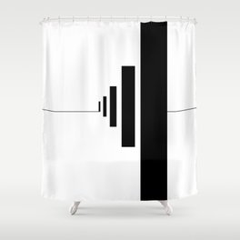 SOMEWHERE IN NOWHERE Shower Curtain