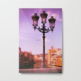 Girona Metal Print