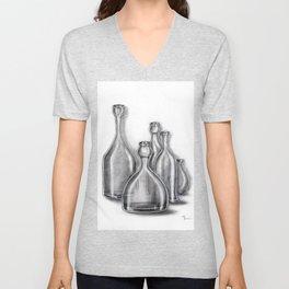 Head Bottles Unisex V-Neck