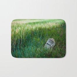 wheat and stone Bath Mat
