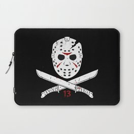 Jason mask Laptop Sleeve