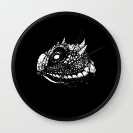 Lizzy (Black) Wall Clock