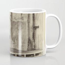 Antique plate style old loading dock Coffee Mug