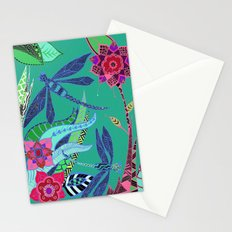 Dragonfly Garden Stationery Cards