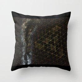 Galaxometry Throw Pillow