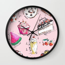 Food Love Wall Clock