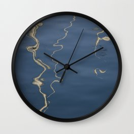 Abstract Sails Wall Clock