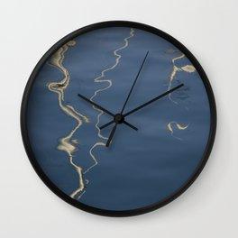 Abstract Sails Wall Clock