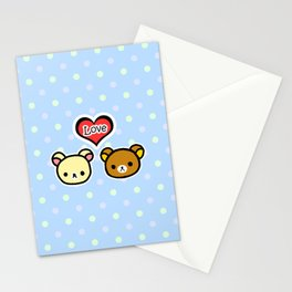 Bear Love Stationery Cards