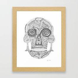 Sugar Skull 2.0 Framed Art Print