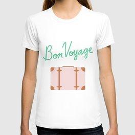 Bon Voyage \\ Suitcase T-shirt