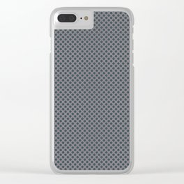 PPG Glidden Trending Colors of 2019 Night Watch PPG1145-7 Polka Dots on Magic Dust Muted Purple PPG1 Clear iPhone Case