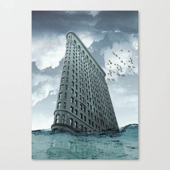 below the water line Canvas Print
