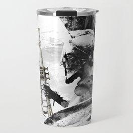 Trumpet Warrior Travel Mug