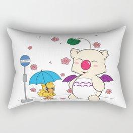 Chocobo's Neighbor. Rectangular Pillow