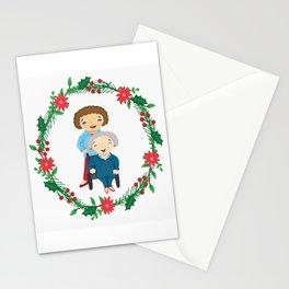 Custom Family Portraits Stationery Cards