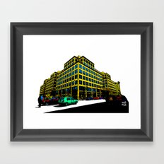 Berlin City Framed Art Print