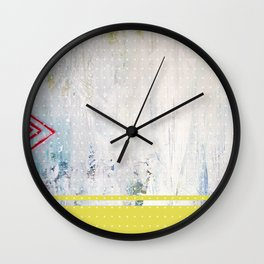 Red Arrow Wall Clock