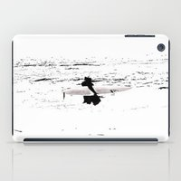 surfer iPad Cases featuring Surfer  by Nilka Elis