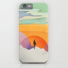 I Like to Watch the Sun Come Up - (White Version) iPhone 6 Slim Case