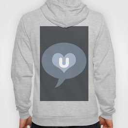 'I love you' pictogram Hoody
