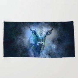 Bull Beach Towel