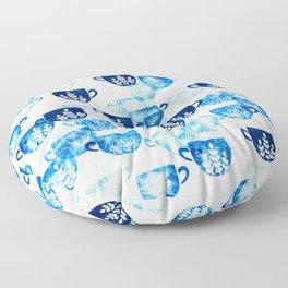 Mug art collection Floor Pillow