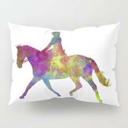 Horse show 05 in watercolor Pillow Sham