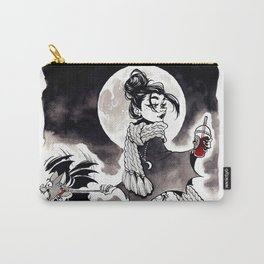 Casual Vampire Carry-All Pouch