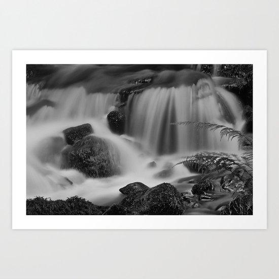 Steeton Falls Art Print