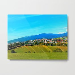 Unsettled geography Metal Print